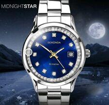 Sekonda Midnight Star 2147 TV Advert Ladies Crystal Set WR 50M Watch 2 Yr G/tee