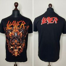 90's Vintage Rare Slayer Tour Shirt With Eagle Size M