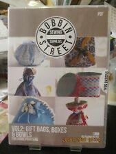 Bobbin Street Sewing Supplies Gift Bags, Boxes and Bowls Volume 2 USB