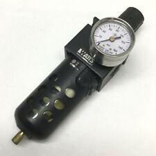 "Parker Watts B75-03BJC Filter/Regulator 0-125psi, 40 Micron, 3/8"" NPT w/ Gauge"