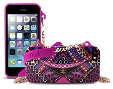 Clutch Cover iPhone SE 5s 5 PURO originale Just Cavalli borsetta tracolla pink