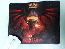 Mat mouse Mousepad World Warcraft WOW dragon Deathwing SHIPS WORLDWIDE