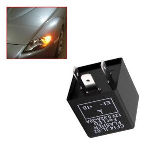 3Pin Electronic Car Flasher Relay CF13 JL-02 Fix LED Light Hyper Flash Blinking!