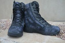 Mens Camo Tactical Military Combat Boots SWAT Waterproof Hiking Outdoor Shoes