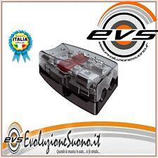 Audison Connection Bfd 21 Distributore Portafusibile Alimentazione 2 Uscite NERO