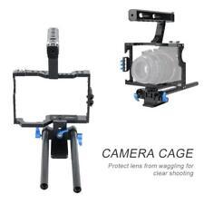 Portable Aluminum Camera Cage Rig Stabilizer Top Handle Grip for DSLR Camera DV