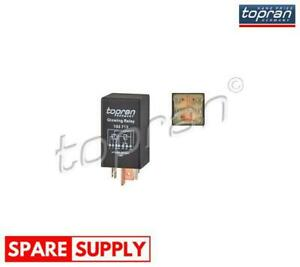 RELAY, GLOW PLUG SYSTEM FOR AUDI VW TOPRAN 103 718