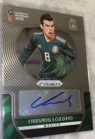 2018 Hirving Lozano Auto Panini Prizm Mexico Soccer