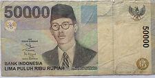 Indonesia 50000 Rupiah 1999 YYB 205910