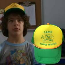 Men Stra 00004000 nger Things 3 Dustin Hat Mesh Baseball Adjust Cap Camp 85 Christmas Gift