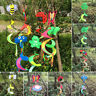 1Pc Animal Spiral Windmill Colorful Wind Spinner Lawn Garden Yard Outdoor Decor