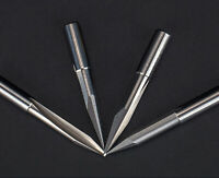 5pc 6mm x30° x 1.5mm double straight flute sharp tool Engraving CNC router bits