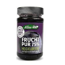 (1,20/100g) Allos Frucht Pur 75% Heidelbeere bio 250 g