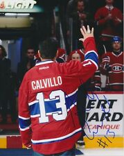 Anthony Calvillo Montreal Canadiens Alouettes CFL autographed 8x10 Photo w/COA