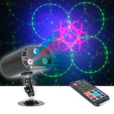 Stage Lighting LED 36 Patterns Sounds Active Laser Projector DJ Disco Remote UK