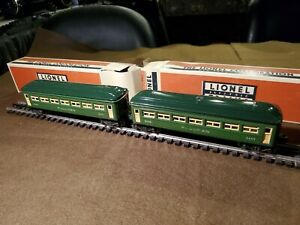 Lionel Pre War O Gauge Pair Of # 2440 Metal Pullman Cars, Both In VGC, 1946/47