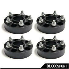 "(4) For Lexus IS250 GS300 Wheel Adapter Spacers 5 Lugs 30mm 1.25"" 5x4.5"" M12x1.5"