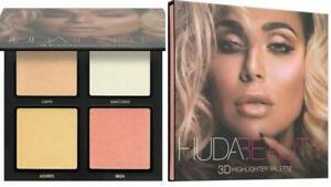 New Huda Beauty 3D Highlighter Palette Gold Sands
