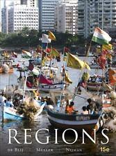 Regions by Jan Nijman, H. J. de Blij and Peter O. Muller (2011, Hardcover)