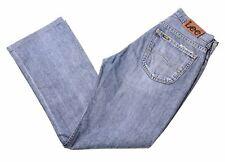 LEE Mens Jeans W31 L29 Blue Cotton Bootcut Denver HG11