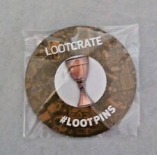 NEW Artifacts Chalice Goblet Pin Holy Grail Loot Crate Exclusive April 2018