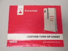 Guaranteed Ignition Tune-up Chart 1969