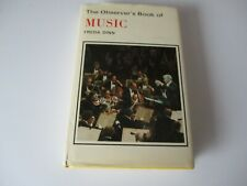 THE OBSERVER'S BOOK OF MUSIC - 1979