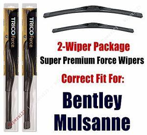 Wipers 2-Pack Hi-Performance - fits 2013+ Bentley Mulsanne - 25240/210