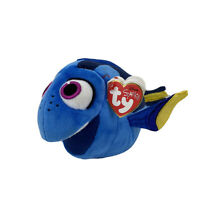 Disney Pixar Finding Dory Blue Fish  Beanie Babies Plush Stuffed Toy Ty SPARKLE