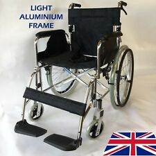 Orbus AW002S 18 inch Folding, Lightweight Aluminium Self Propelled Wheelchair