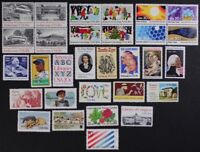 US 1982 Commemorative Year Set collection, 80 stamps w/State Birds & Flowers MNH
