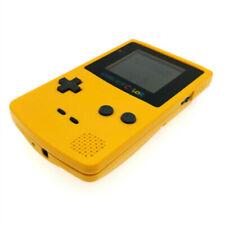 Yellow Refurbished Nintendo Game Boy Color GBC game Console + Game Cartridge