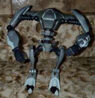 "Star Wars The Clone Wars - Aqua Droid Figure Toy 4"" 2010 LFL Hasbro Jointed"