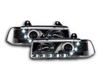 BMW 3 Series E36 Coupe / Cabrio 1992-1998 Chrome LED DRL Daylight Headlights RHD