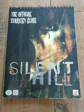 Silent Hill Guide Playstation 1 PS1 Book Piggyback