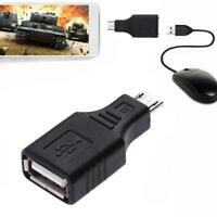 Micro USB Male to USB Female Expansion OTG Adapter Converter for Android Samsung