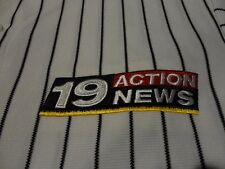 Softball Team TV NEWS Television Station Pinstripe Jersey FREE Shipping Medium