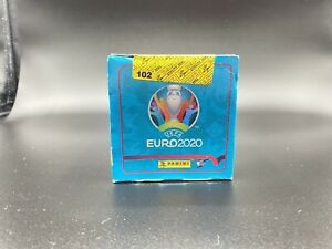 Panini Euro 2020 No Preview 50 packs Vertical Sealed Box VHTF Mexico Mbappe