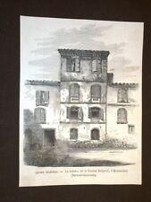 Causes célèbres La Maison de la Femme Delpech Montauban Tarn et Garonne Francia