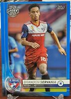 2020 Topps MLS 22 Under 22 #179 Brandon Servania   BLUE /99 RC Rookie