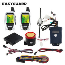 2way motorcycle alarm system microwave sensor detect remote start security alarm