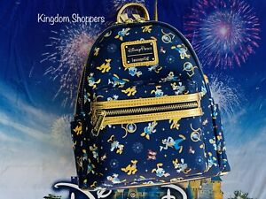 2021 Walt Disney World Parks 50th Celebration Collection Loungefly Backpack D