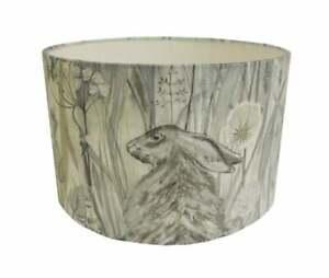 Sanderson Fabrics -  Dune Hares - Mist/Pebble  Stunning Lamps or ceiling lights