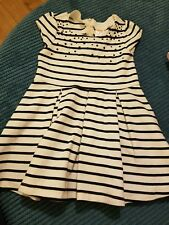 gymboree girl 3-4 4 years white party dress