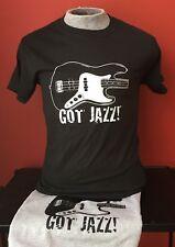 GOT JAZZ F BASS GUITAR  T-SHIRT SIZES S-XL