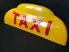 Rare, Vintage NYC TAXI DOME LIGHT 1940 From The Godfather Film See Proof Photos!
