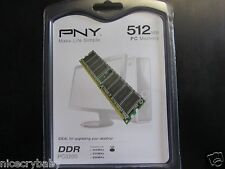 NEW PNY OPTIMA 512MB MD 0512SD1-400 DDR SDRAM Memory RAM 400MHz DDR400 / PC3200