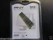 NEW PNY OPTIMA 512MB MD 0512SD1-400 DDR SDRAM Memory RAM 400MHz DDR400 / PC3200