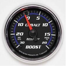 AU6107  Auto Meter Cobalt, Boost/Vacuum Gauge,30 in. Hg/20 psi, 2 1/16 in..