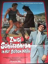 ZWEI SCHLITZOHREN IN DER GELBEN HÖLLE -  Filmplakat